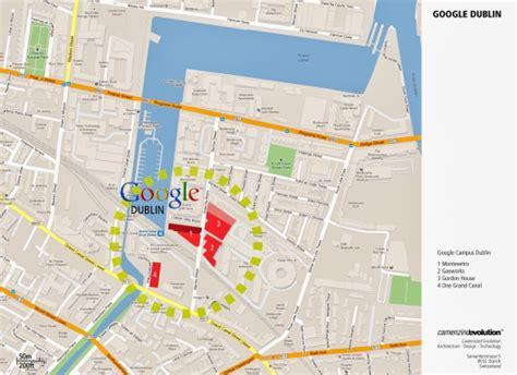 Google Dublin Address google campus dublin camenzind evolution henry j