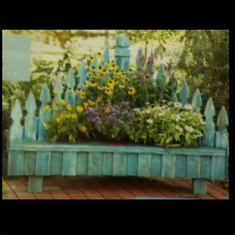 flower bed bench 1000 images about bench settee from a bed on pinterest