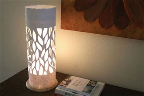 home dzine craft ideas l with paper lshade