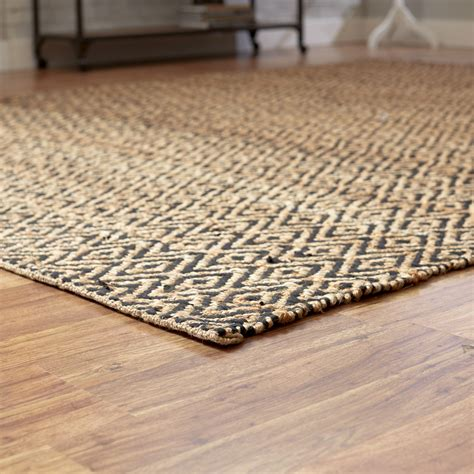 handwoven rug mercury row pyrrhos woven black area rug reviews wayfair ca