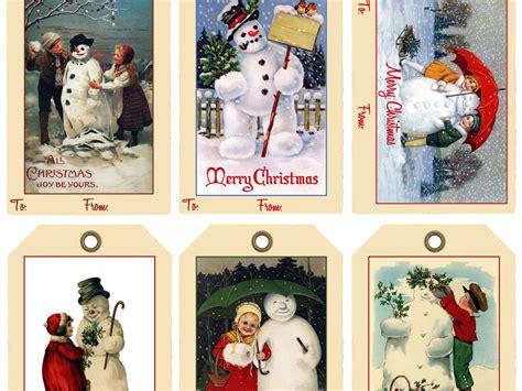 free printable snowman christmas gift tags snowman holiday gift tags free printable wicked good