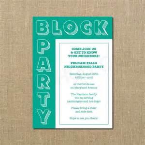 17 best ideas about block invites on neighborhood block and