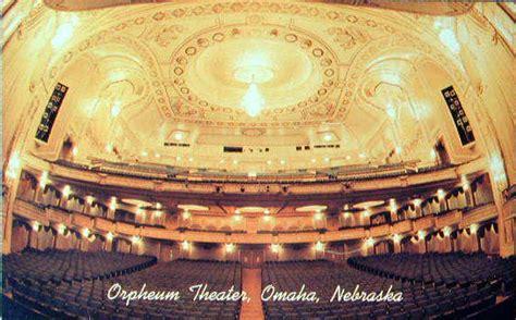 ne theater orpheum theater in omaha ne cinema treasures