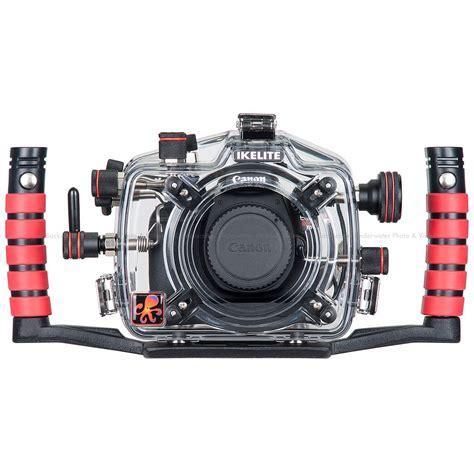 Kamera Canon Eos X70 ikelite underwater ttl housing for canon eos 1200d rebel t5 x70 dslr backscatter