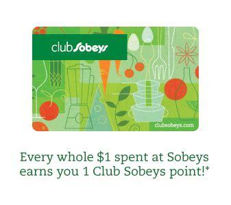 Sobeys Amazon Gift Card - club sobeys points program deals from savealoonie