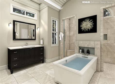 kohler bathroom design kohler bathroom design service personalized bathroom designs