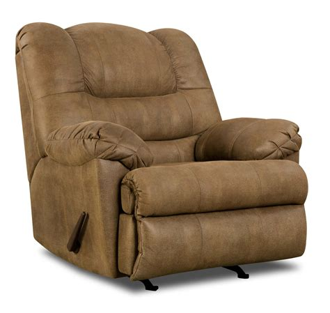 simmons power recliner simmons upholstery 619 casual rocker with power recliner