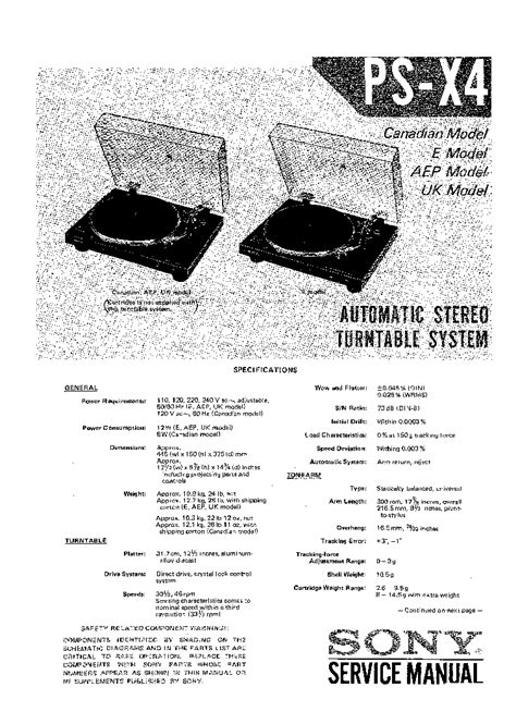 SONY WM-FX1 Service Manual download, schematics, eeprom