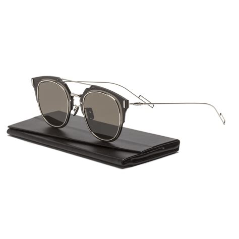 So Real Gray Brown homme composit 1 0 sunglasses 0102m palladium silver