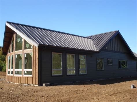 metal homes on metal buildings modern barn