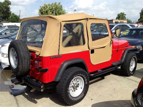 1989 Jeep Wrangler Soft Top 1989 Jeep Wrangler Soft Top Details Marrero La 70072