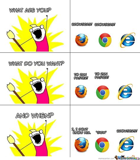Who Are We Browsers Meme - browsers by chayce meme center