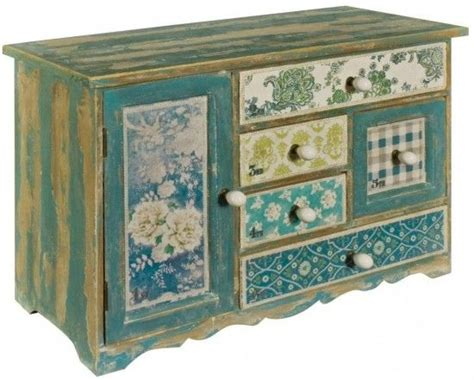 blue patterned chest of drawers image 1 marriea s table ideas pinterest drawers