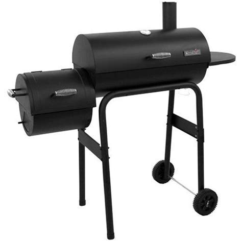 char broil charcoal grill char broil 12201570 charcoal grill with offset smoker brandsmart usa