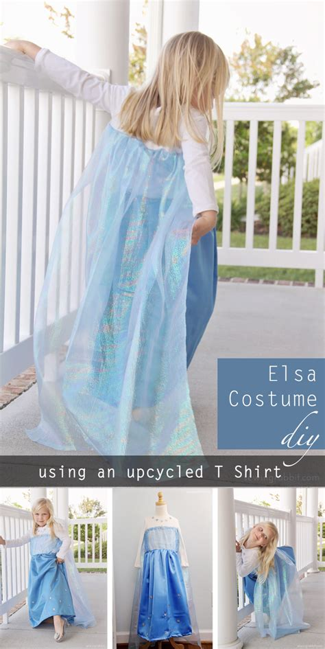 Handmade Elsa Costume - handmade elsa frozen costume pattern invitations ideas