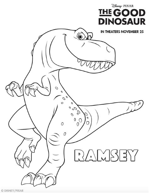 good dinosaur coloring pages pdf the good dinosaur coloring pages simply being mommy