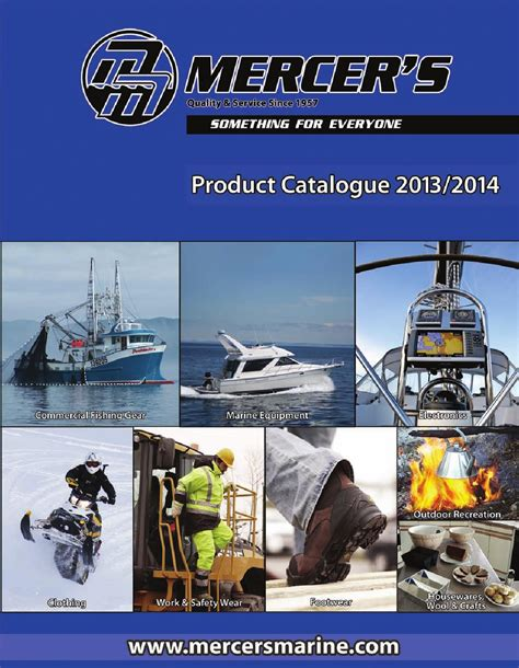 mercers marine outdoor 2011 2012 product catalogue by mercer marine
