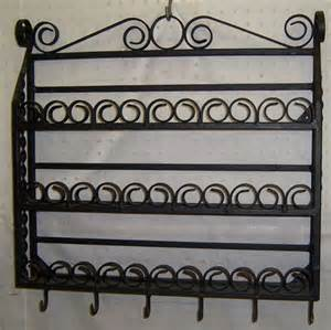 604 wrought iron spice rack lot 604