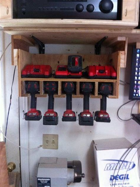 Garage Organization Milwaukee 17 Best Images About Tool Charging Stations On