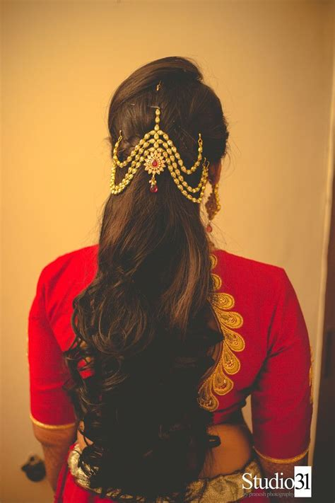 Bridal Hairstyles For Medium Hair Indian by South Indian Bridal Hairstyles For Medium Hair Www