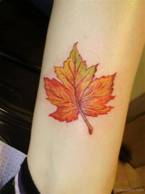 leaves tattoo leaf tattoos designs pictures page 2