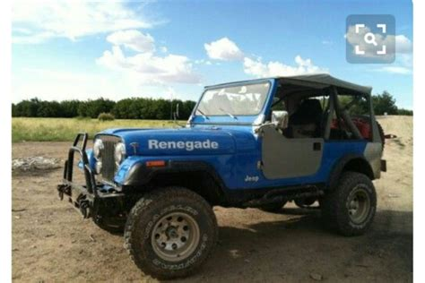 1981 jeep renegade 1981 jeep renegade cj 7 for sale jeep cj 1981 for sale