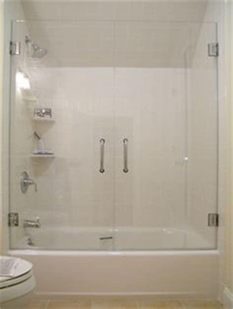 glass door for bathtub 1000 ideas about tub glass door on window