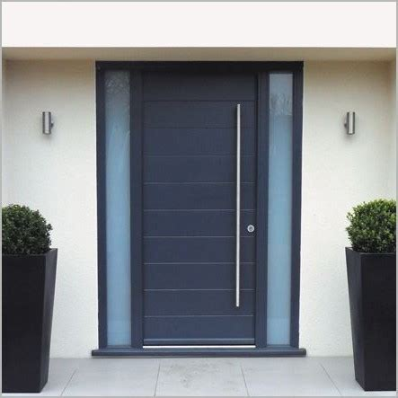 Aluminium Front Doors For Homes Modern Home Front Doors 187 Modern Looks Graphite Grey Aluminium Exterior Door Search Ct