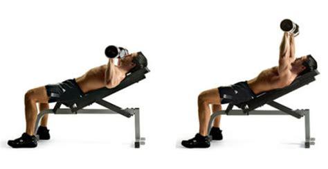 incline bench press dumbbell incline dumbbell press nasıl yapılır fitness beast