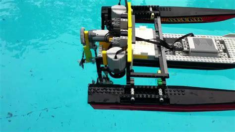 lego underwater boat motor lego technic rc boat power functions motors youtube