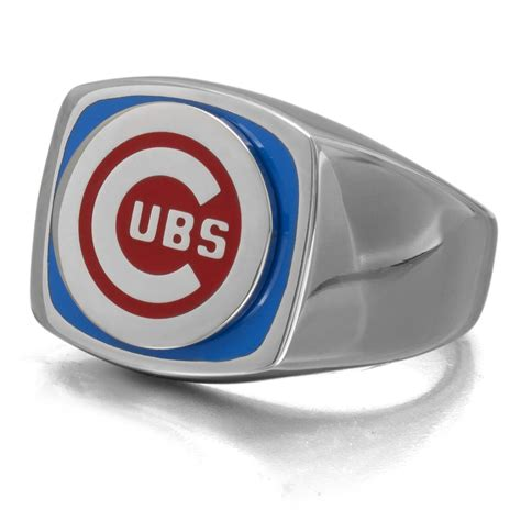 cubs rings mlb stainless steel chicago cubs ring