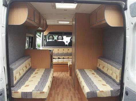 Head Office Interiors Ltd Convert Your Van Ltd Vauxhall Movano Camper Conversions