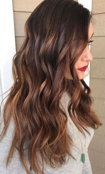 Strawberry Balayage Mane Interest 17 Best Ideas About Warm Hair Colors On Hair Hair Colors And Fall
