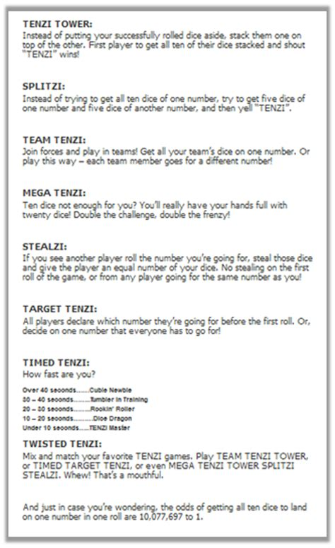 printable card games instructions tenzi a game giveaway teaching maddeness