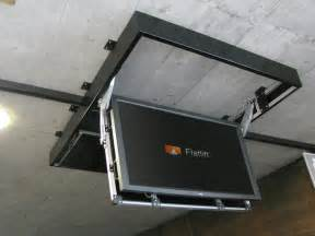 ceiling tv lift ceiling tv lift pictures to pin on pinsdaddy