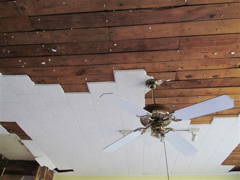 how to remove acoustic ceiling the quot why quot and quot how quot of our kitchen remodel living vintage
