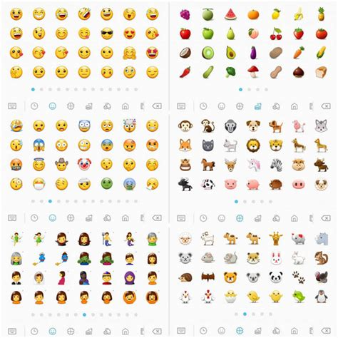 Samsung Emoji Galaxy S8 Oreo Beta Apps And Features Port Samsung Experience 9 0 Apps