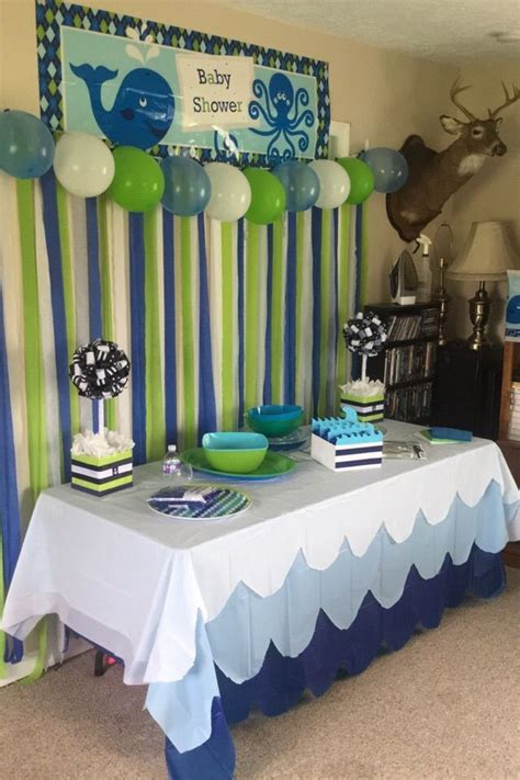 my baby shower whale baby shower