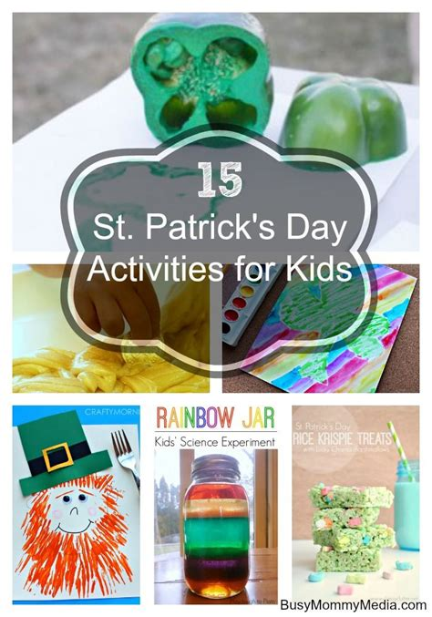 st patricks day kid crafts 15 st s day activities for easy diy crafts