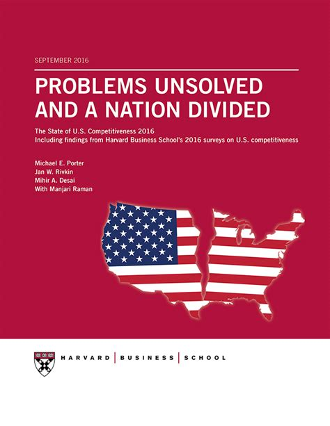Is The Harvard Mba The Root Of All Evil by U S Competitiveness Harvard Business School
