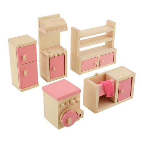 wooden doll houses with furniture online get cheap wood doll furniture aliexpress com alibaba group