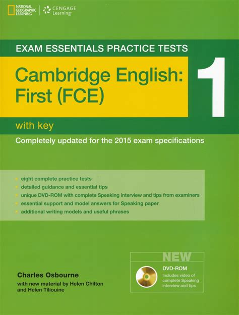 practice tests for cambridge 140806152x exam essentials practice tests cambridge english first fce 1 with key and dvd rom