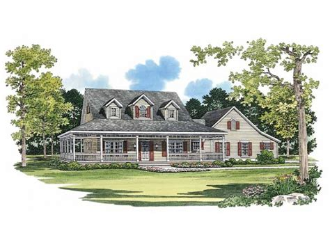 wrap around porch house plans eplans farmhouse house plan picturesque porch 2090
