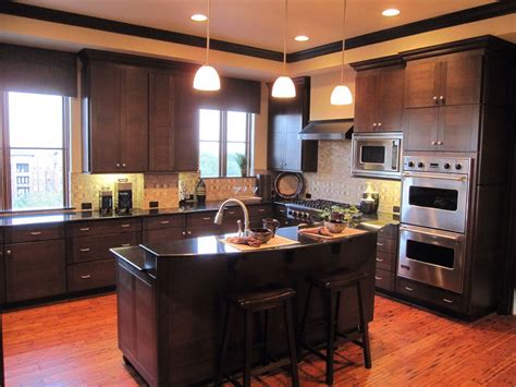 Redwood Kitchen Cabinets Kitchen Countertop Options For Your Awesome Kitchen Designoursign