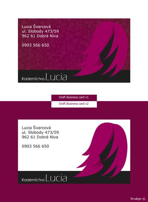 Hair Dresser Business Card by Business Card 4 Hairdresser By Terwiliger On Deviantart
