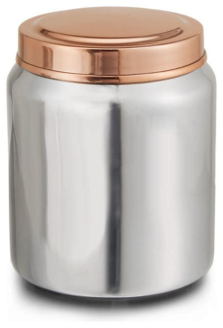 silver kitchen canisters empire jar transitional kitchen canisters and jars by paradigm trends
