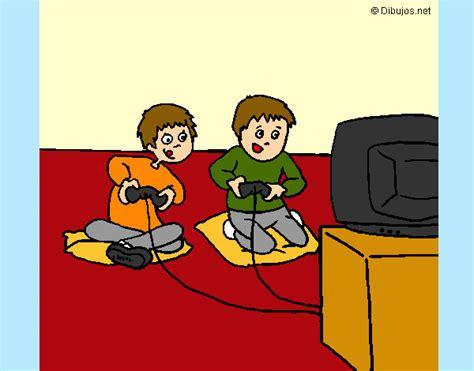 Imagenes De Niños Jugando Xbox | jugar xbox dibujo imagui