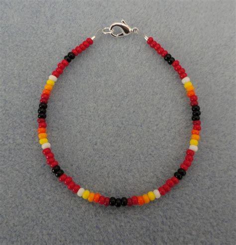 beaded bracelet american made all sizes ebay