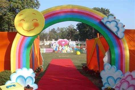 theme line care bear care bear theme party decoration in delhi noida gurgaon