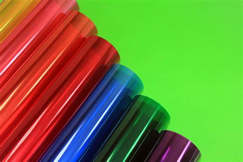 colored cellophane sheets cellophane bopp with translucent color printed gift